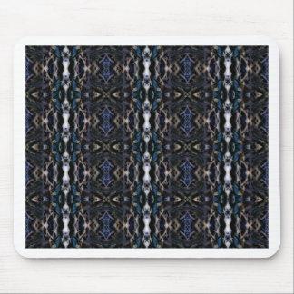 simetría de la flora del mirroruniverse mouse pads