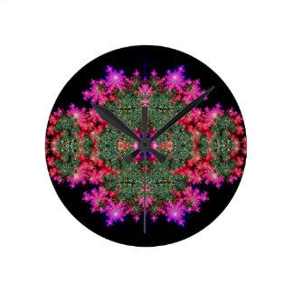 Simetría del fractal relojes