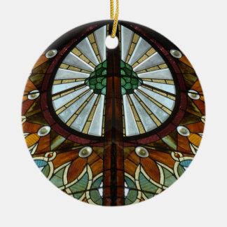 Simetría del vitral ornamentos de reyes magos