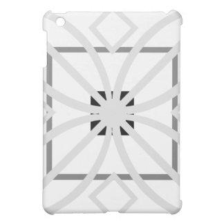 simétrico blanco y gris