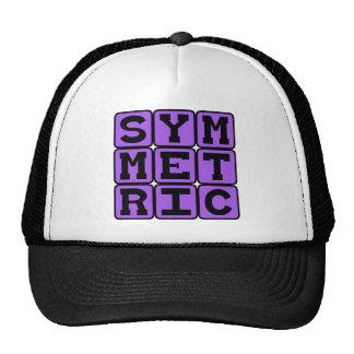 Simétrico, Espejo-Como Gorros