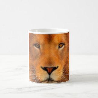 Simha Lion Face Coffee Mug