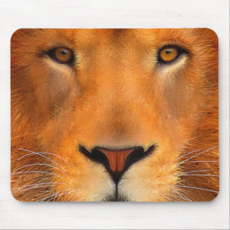 Simha Lion Face Mouse Pad