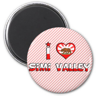 Simi Valley, CA Magnet