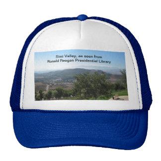 Simi Valley según lo visto de la biblioteca de Rea Gorro De Camionero