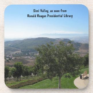 Simi Valley según lo visto de la biblioteca de Rea Posavasos