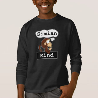 Simian Mind Kid's Long Sleeve Shirt