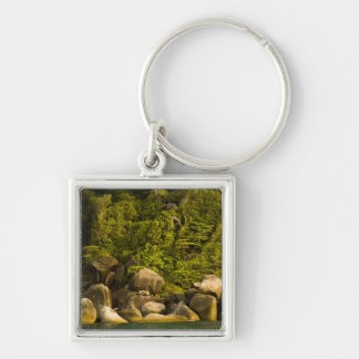 Similan Islands, Marine National Park near Silver-Colored Square Keychain