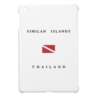 Similan Islands Thailand Scuba Dive Flag Cover For The iPad Mini
