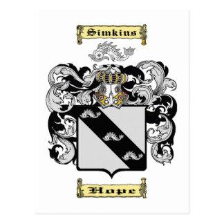 Simkins Postcard