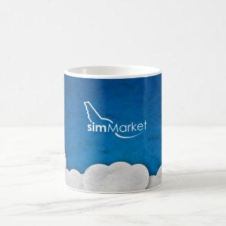 simMarket Paper Sky 3 Classic White Coffee Mug