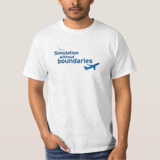 simMarket Paper Sky 5 T-Shirt