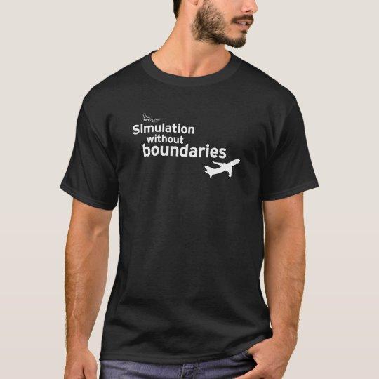 simMarket Paper Sky 5d T-Shirt
