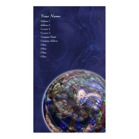 Planetary Mandala Business Cards