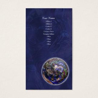 Simmer Mandala Art - Vertical Business Card