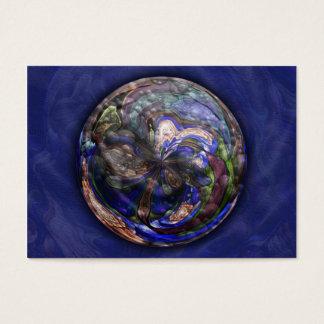 Simmer Mandala Artist Trading Card - ACEO