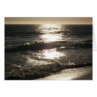 Simmering Sunset Card