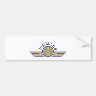 simmiles car bumper sticker