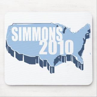SIMMONS 2010 MOUSEPADS