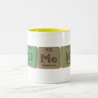 Simon as Silicon Molybdenum Nitrogen Two-Tone Coffee Mug