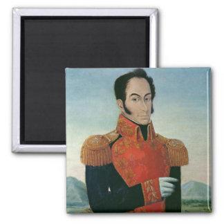 Simon Bolivar 2 Inch Square Magnet