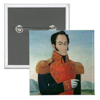Simon Bolivar Pinback Buttons