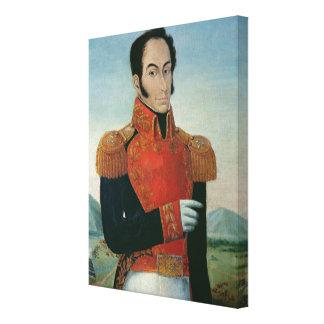 Simon Bolivar Gallery Wrapped Canvas