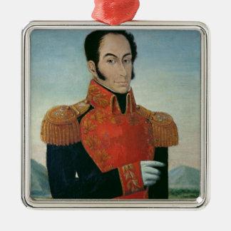 Simon Bolivar Christmas Tree Ornaments