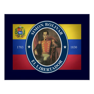 Simon Bolivar Posters