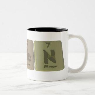 Simon como nitrógeno del molibdeno del silicio taza de dos tonos