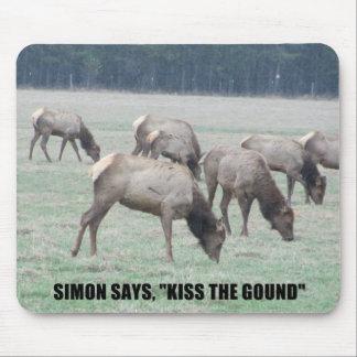 Simon dice… tapete de raton