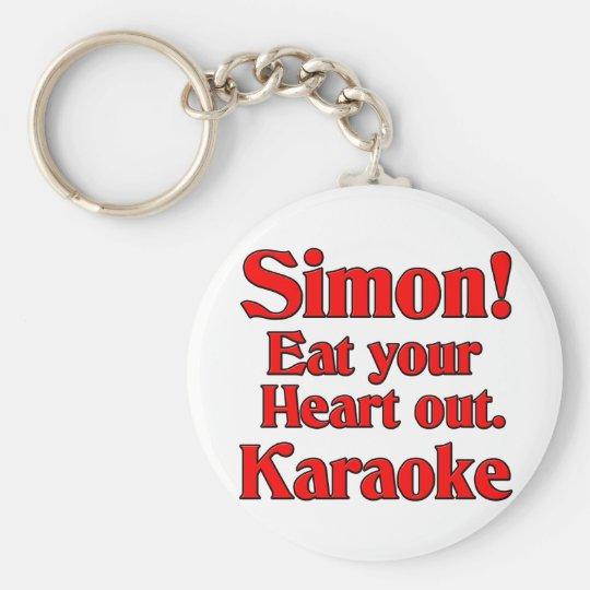 Simon! Eat your heart out. Karaoke Keychain