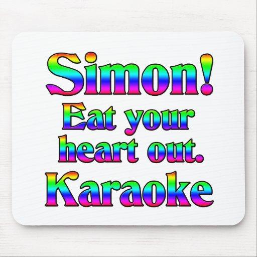 Simon! Eat your heart out. Karaoke Mouse Pad