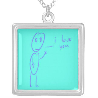 Simon I Love You Necklace