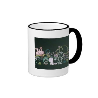 Simon in the Land of Chalk Drawings Coffee Mugs
