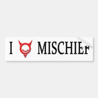 Simon Jester Mischief Bumper Sticker
