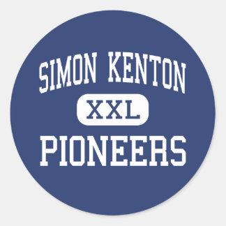 Simon Kenton - Pioneers - High - Independence Classic Round Sticker
