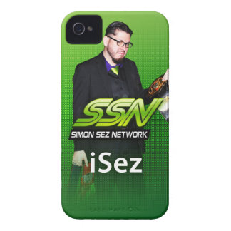"Simon Sez Network ""iSez"" iPhone 4/4S Case"