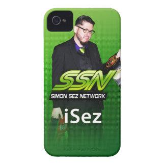 "Simon Sez Network ""iSez"" iPhone 4/4S Case"