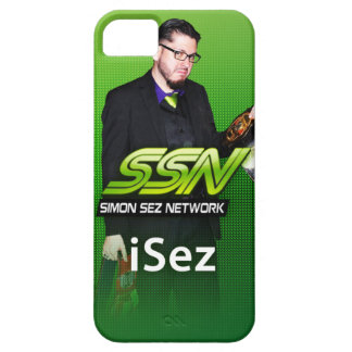 "Simon Sez Network ""iSez"" iPhone 5 Case"