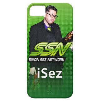 "Simon Sez Network ""iSez"" iPhone 5 Case"