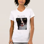 Simon the bad attitude cat t-shirt