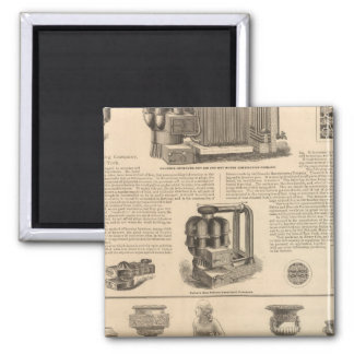 Simonds Manufacturing Company Stewart 2 Inch Square Magnet