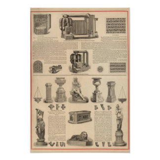 Simonds Manufacturing Company Stewart Poster