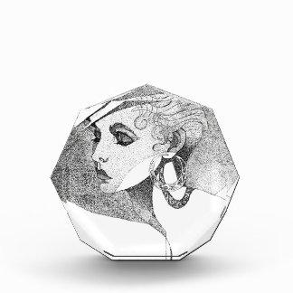 Simone Acrylic Award