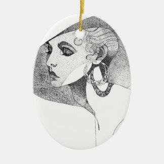 Simone Ceramic Ornament