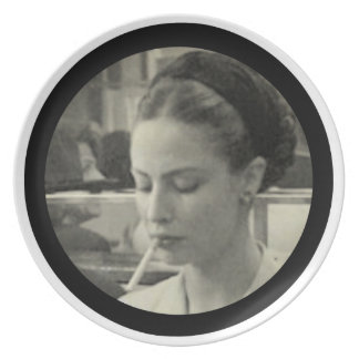 Simone de Beauvoir Dinner Plates