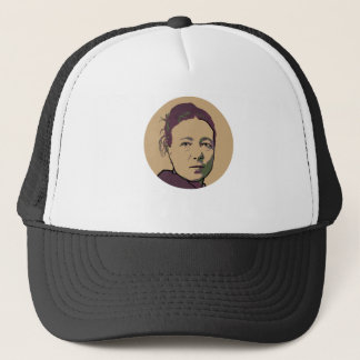 Simone de Beauvoir Trucker Hat