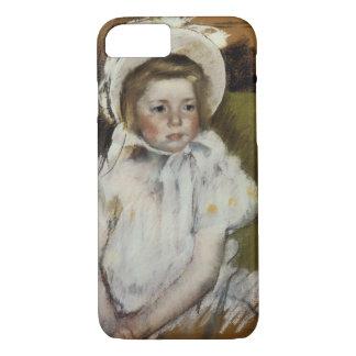 Simone in a White Bonnet iPhone 7 Case
