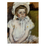Simone in a White Bonnet Post Cards